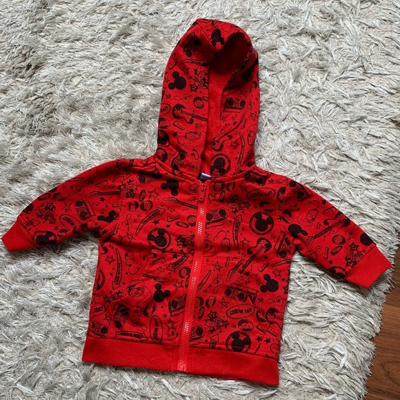 Baby/infant Disney Mickey hoodie size 0-3 months